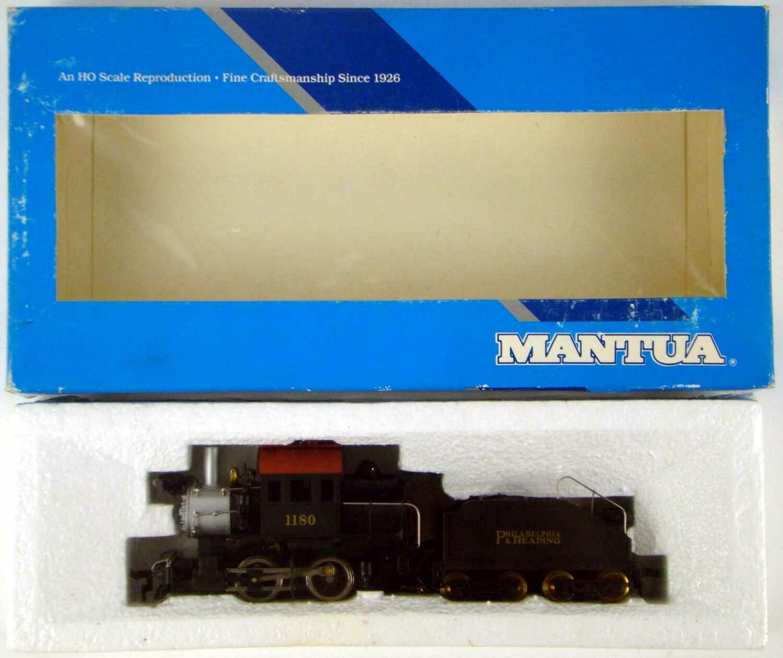 FACTORY SEALED Mantua 335-135 Philadelphia & Reading 0-4-0 Goat Camelback Switcher HO Scale