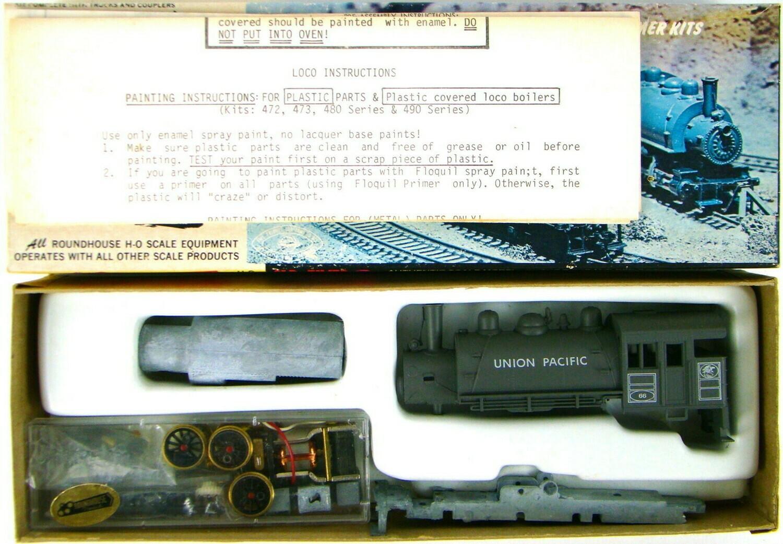 Roundhouse 425 Union Pacific 0-6-0 Saddle Tank Switcher Locomotive HO Scale
