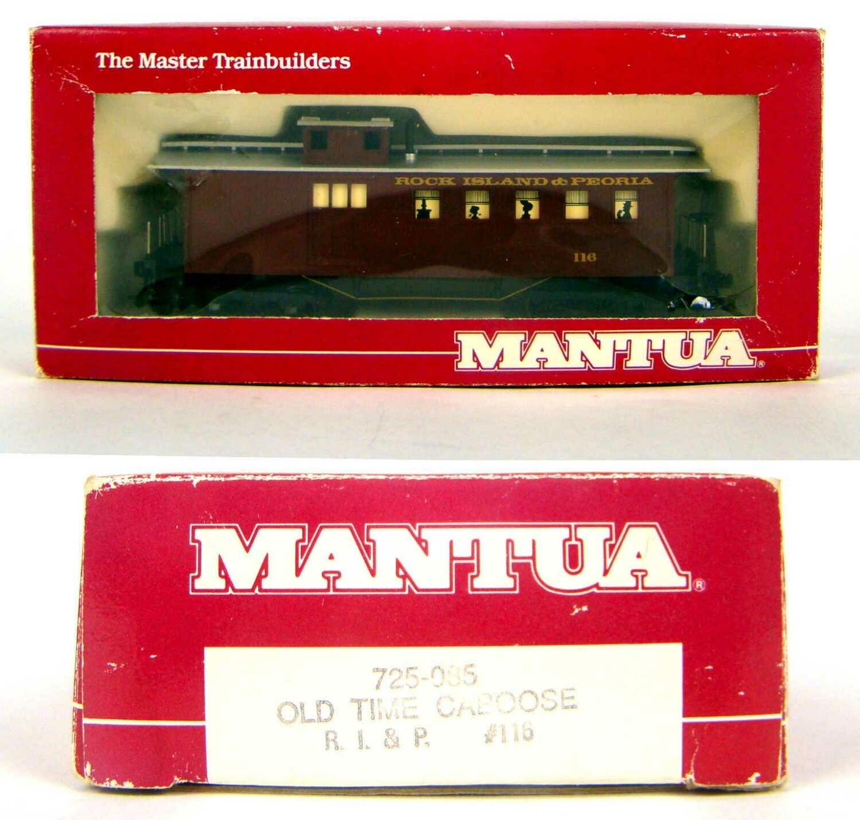 Mantua 725-085 R.I.&P. Old Time Caboose HO Scale