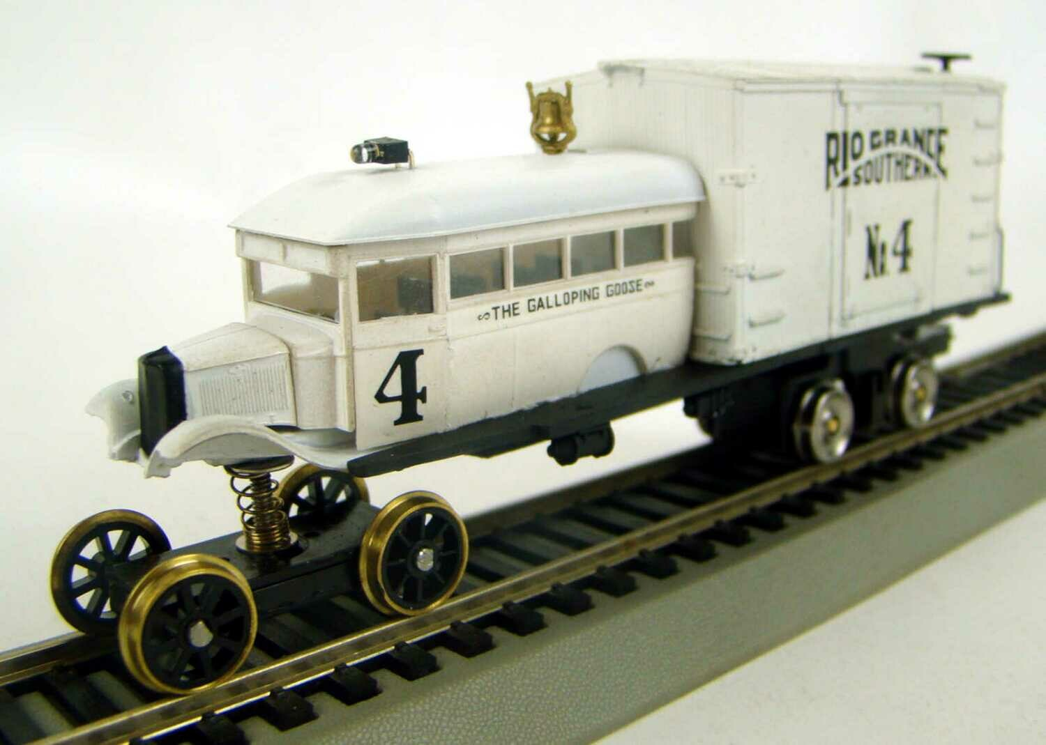 MRRHQ Custom Built Rio Grande & Southern Galloping Goose #4 HO Scale
