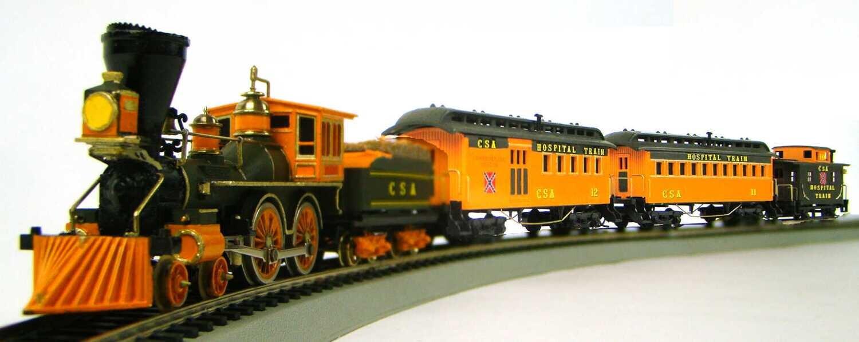 MRRHQ CSA Custom 3-Car Civil War Hospital Train Set #2 HO Scale