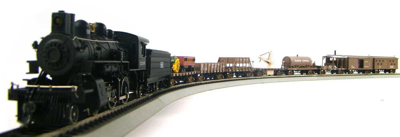 MRRHQ Custom IHC Illinois Central Maintenance of Way Train Set HO Scale