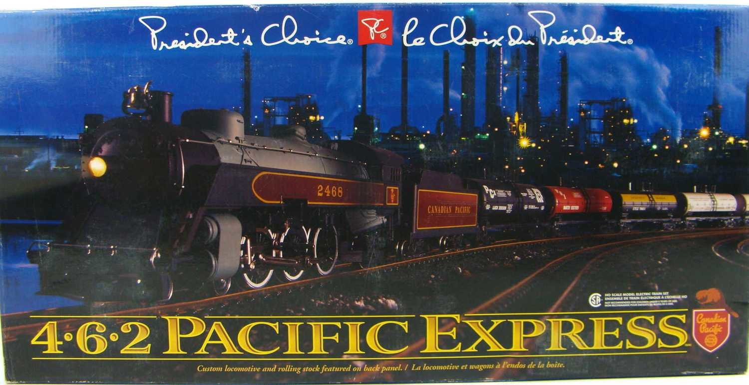 FACTORY SEALED 1999 President's Choice CP 4-6-2 Pacific Express Limited Edition Train Set HO Scale