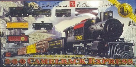 FACTORY SEALED 1998 President's Choice CP 2-6-0 Camelback Express Limited Edition Train Set HO Scale