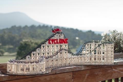 Coaster Dynamix CDX Block Building System Cyclone Roller Coaster Kit