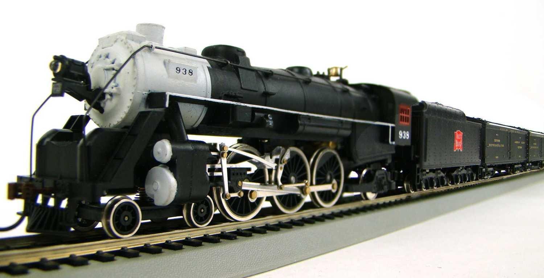 "MRRHQ Custom Mid-Century C.R.I.&P. ""Missile"" 4-6-2 Pacific 8-Car Express Reefer/ Passenger Train HO Scale"