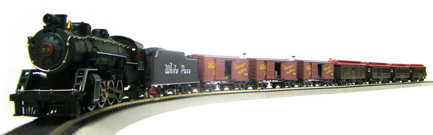 MRRHQ White Pass & Yukon Mixed Passenger/Freight Set w/Custom YP&Y #73 Replica & DCC/Sound HO Scale