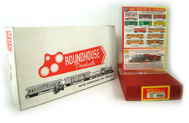 MRRHQ Collectible Roundhouse 00602 David Lee's Menagerie & Circus Train Complete Boxed Set HO Scale