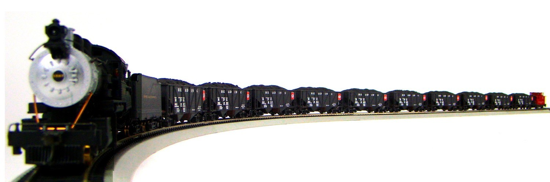 MRRHQ Custom Limited Edition Mantua Reading 1900s Coal Train w/DCC HO Scale