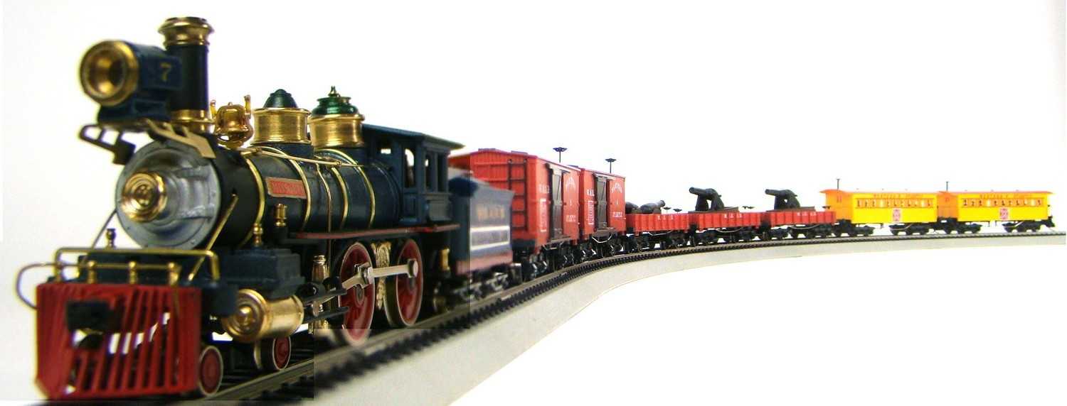 MRRHQ Custom Vintage Limited Edition Civil War CSA Coastal Artillery Train Set
