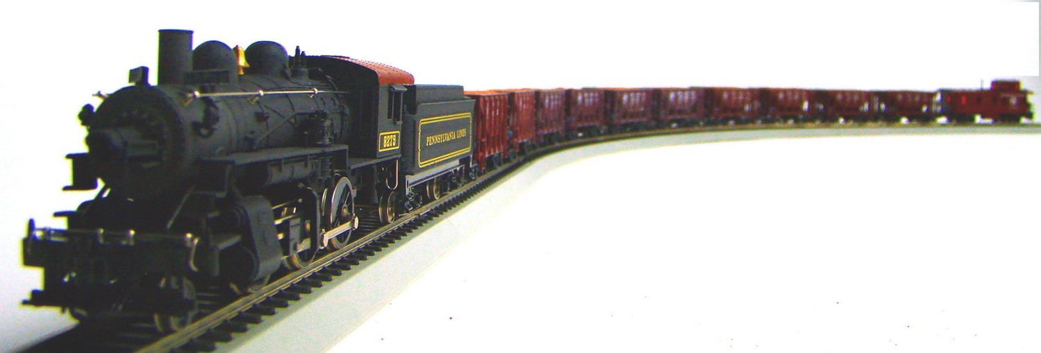MRRHQ Custom Limited Edition IHC/Roundhouse/AHM 1890s PRR Ore Train Set