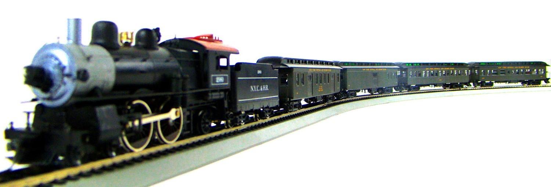 MRRHQ Custom Premium Limited Edition Mantua/Roundhouse 1900s NYC&HR Overland Passenger Train