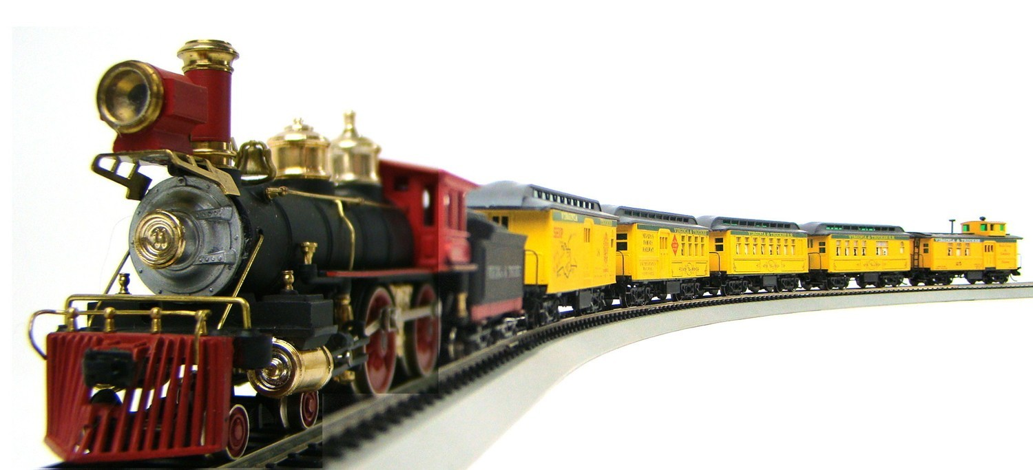 MRRHQ Custom Limited Edition AHM/Roundhouse 1860s V&T Overton Passenger Train