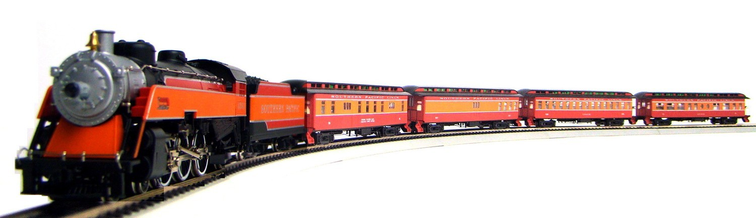"MRRHQ Custom Premium Limited Edition IHC/Roundhouse 1900s SP ""Sunbeam"" Overland Passenger Train w/Tsunami DCC/Sound"