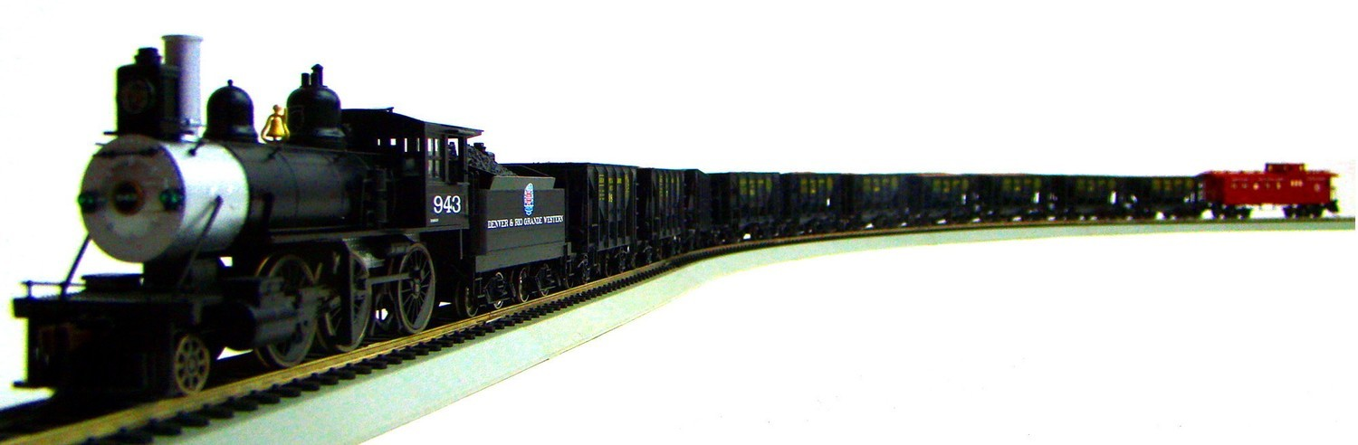 MRRHQ Custom Vintage Limited Edition Roundhouse D&RGW Ore Train Set