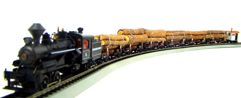 MRRHQ Custom Limited Edition Rivarossi/Roundhouse 1900s Ohio Match Log Train Set