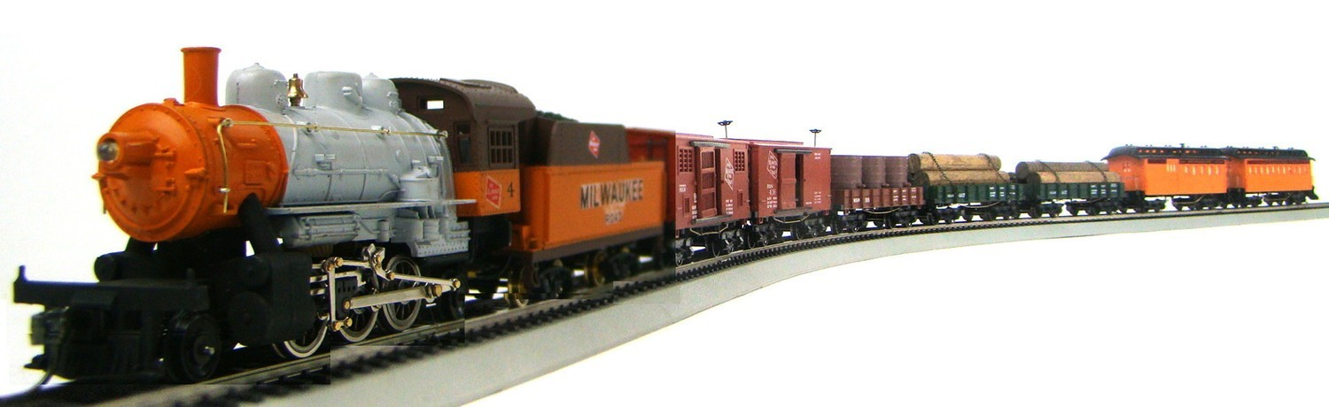 MRRHQ Custom Limited Edition 1890s Milwaukee Overton Mixed Passenger/Freight Train Set