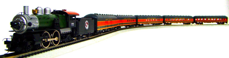 MRRHQ Custom Premium Limited Edition Mantua/Roundhouse 1900s GN Harriman Passenger Train