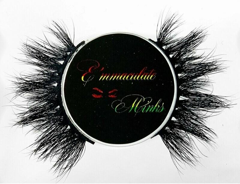 E'mmaculate Minks Oheneba (Princess) 15MM Mink Lashes