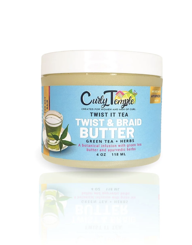 Curly Temple Twist It Tea Butter
