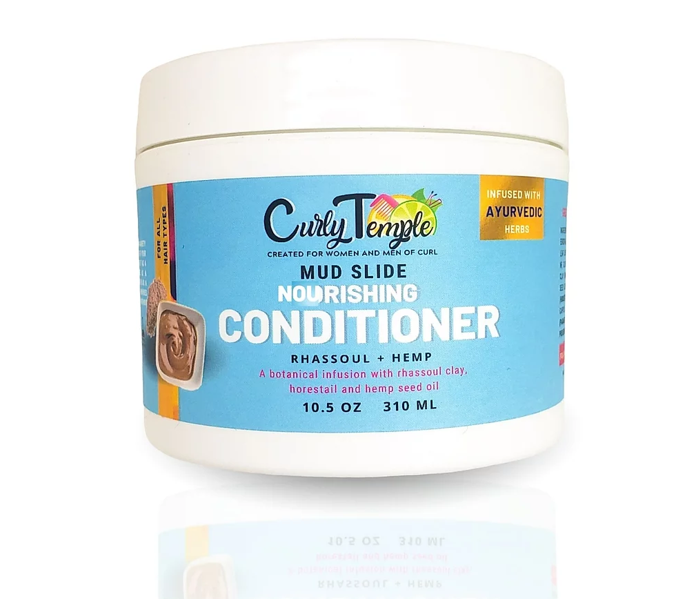 Curly Temple Mud Slide Nourishing Conditioner Mask