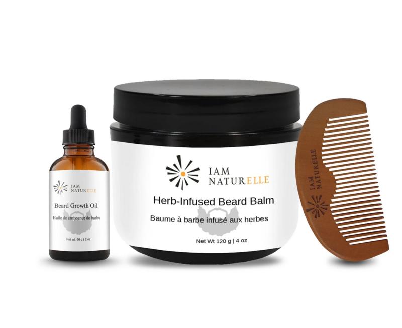I Am Naturelle Beard Growth Kit