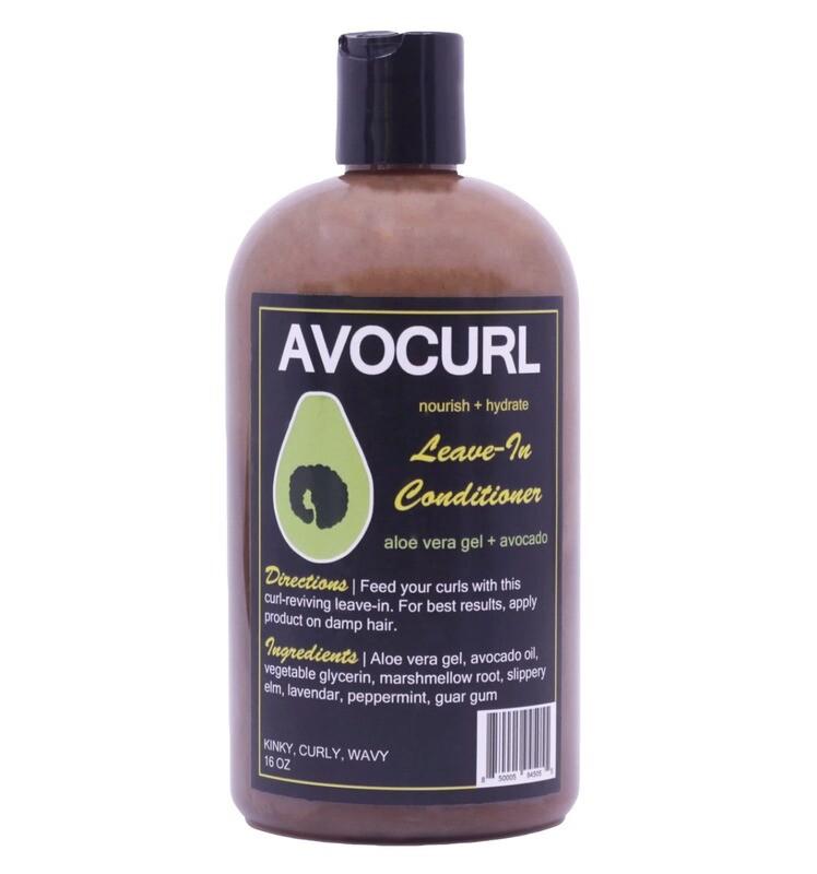 AVOCURL Leave-In Conditioner
