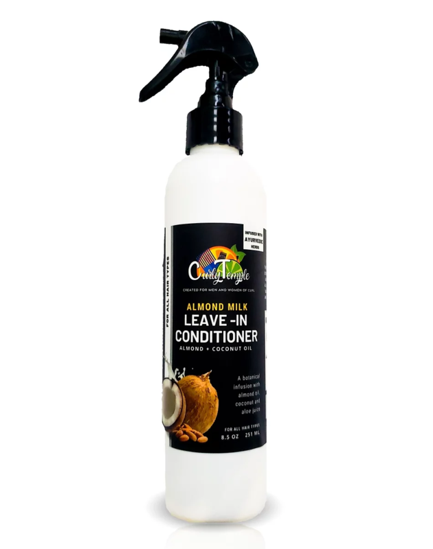 NEW! Curly Temple Almond Milk Leave-In Conditioner (Pre-Order)
