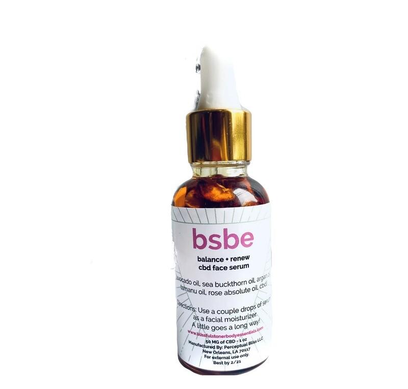 NEW! BSBE Balance + Renew CBD Face Serum