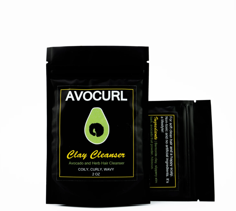 AVOCURL Clay Cleanser