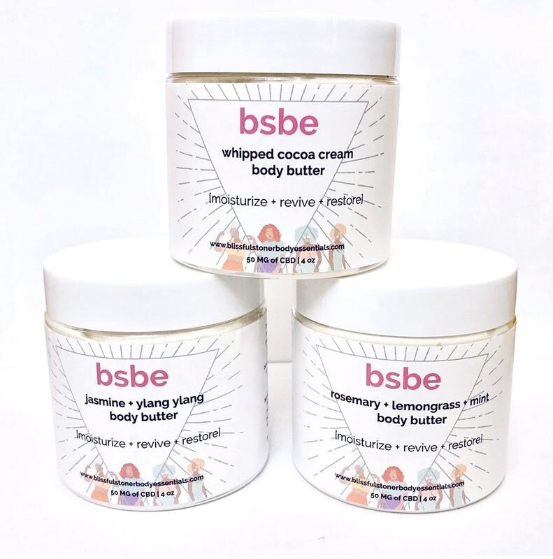 BSBE CBD Body Butters