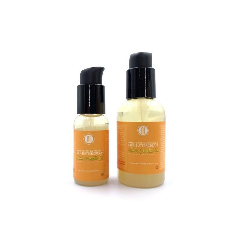 Nancy's Kitchen Products Silk Buttercream Hair Growth Oil