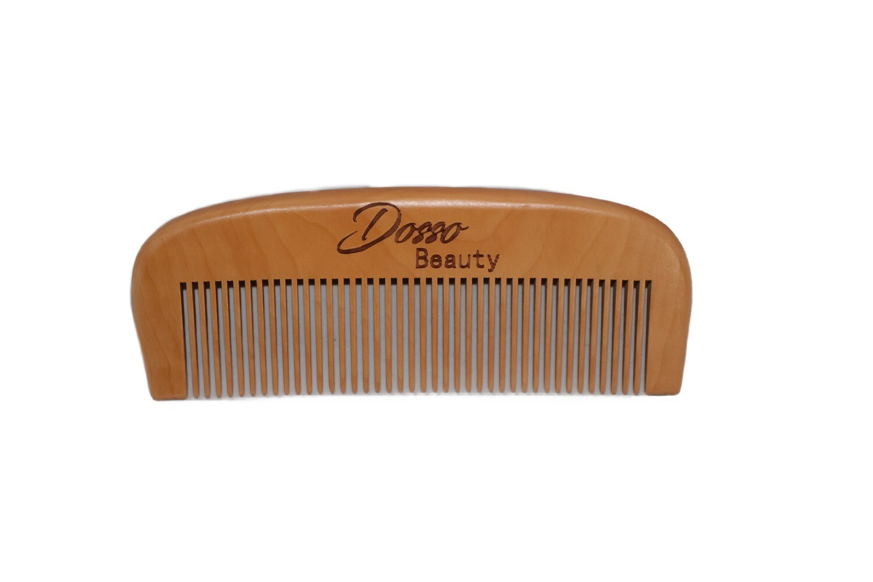 Dosso Beauty Pear Wood Beard Comb