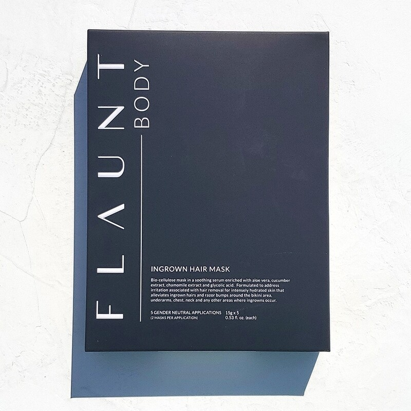 Flaunt Body Ingrown Hair Mask Five Treatments