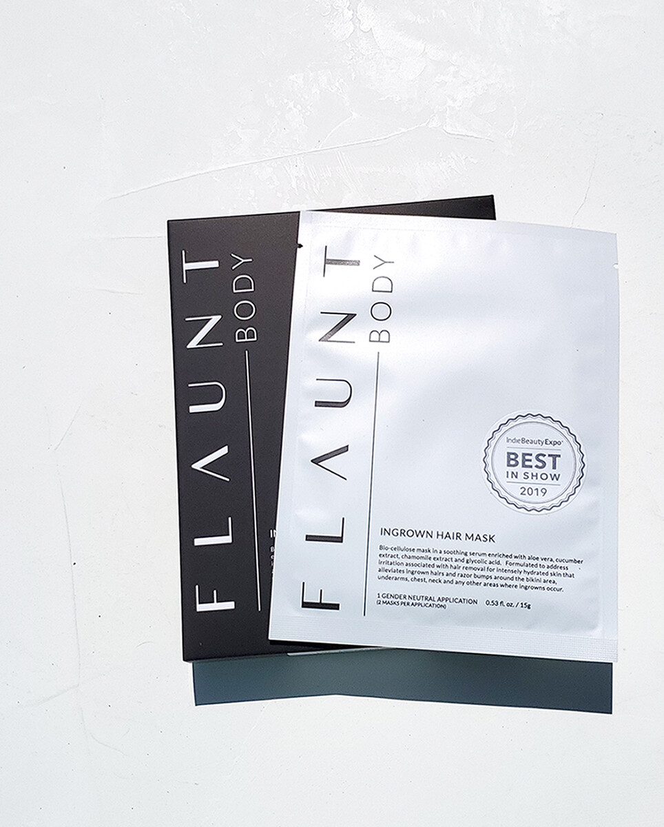 Flaunt Body Ingrown Hair Mask Single  Treatment