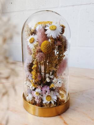 Fleurige bloemenstolp