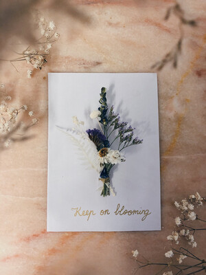 Blooming mom cards