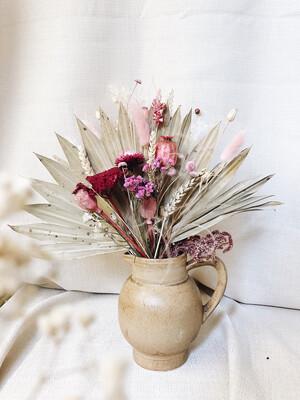 Fleurige vintage vaasjes