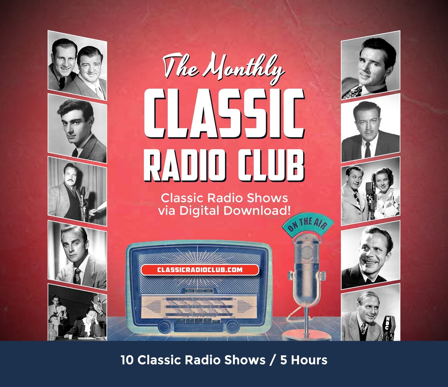Classic Radio Club Past Release #01 (Digital Download only)