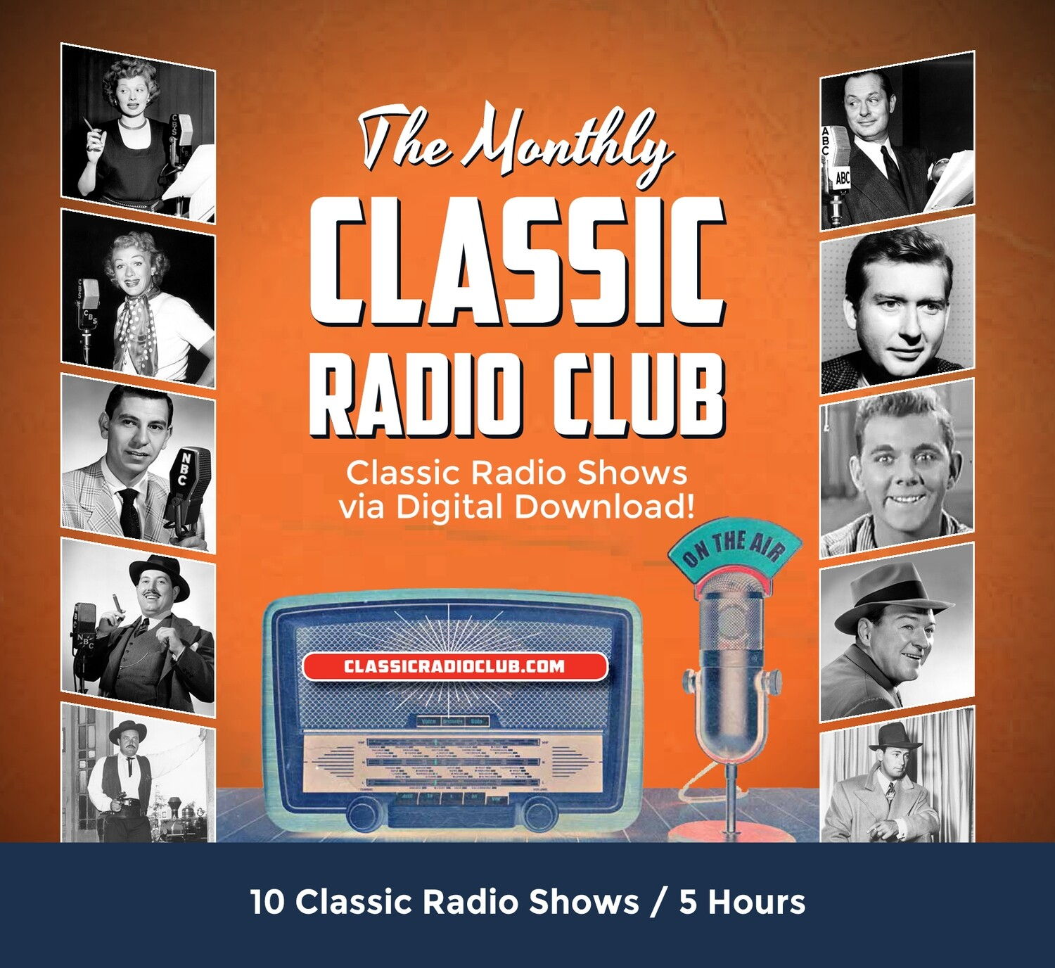 Classic Radio Club Past Release #03 (Digital Download only)