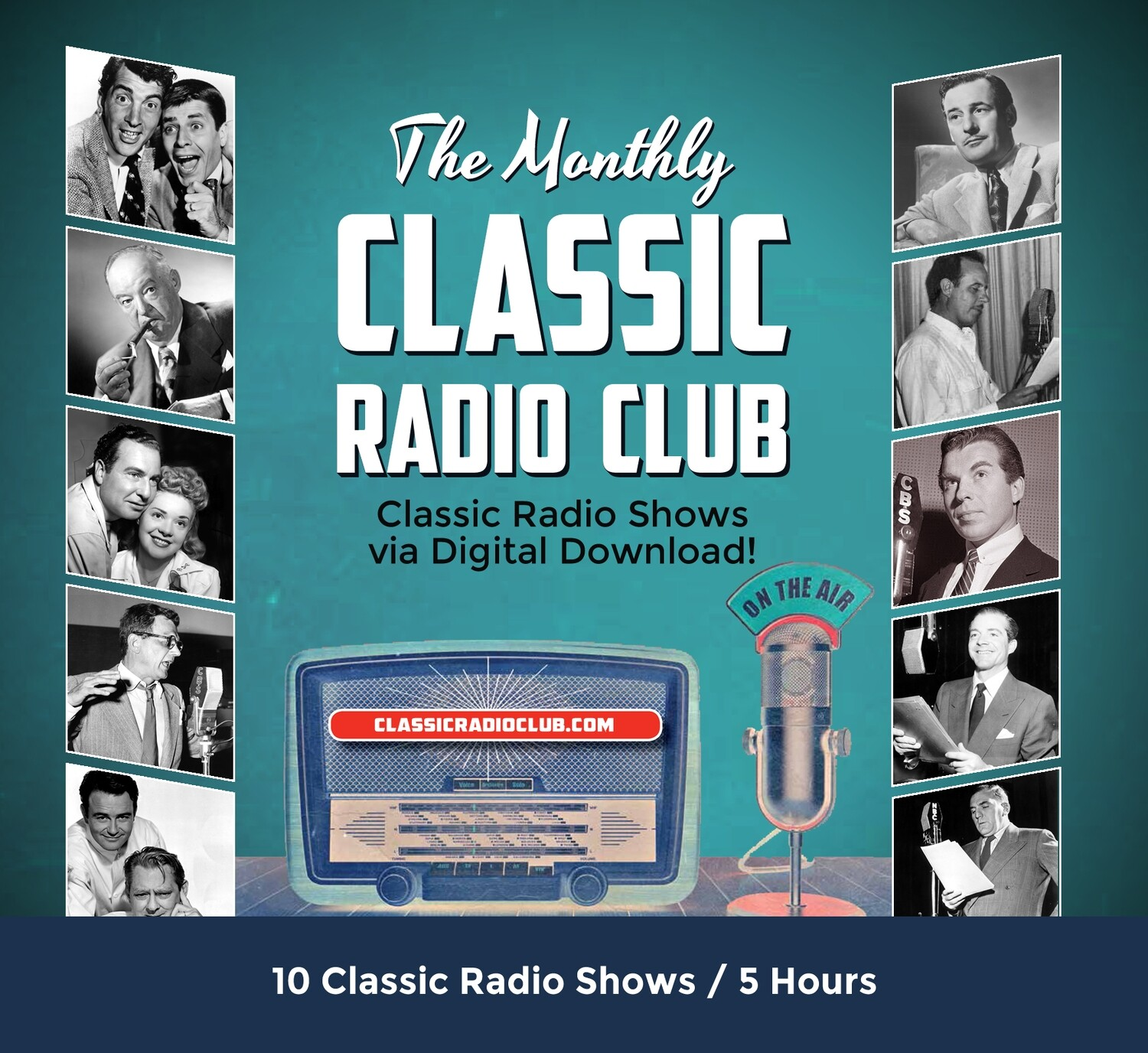 Classic Radio Club Past Release #07 (Digital Download only)