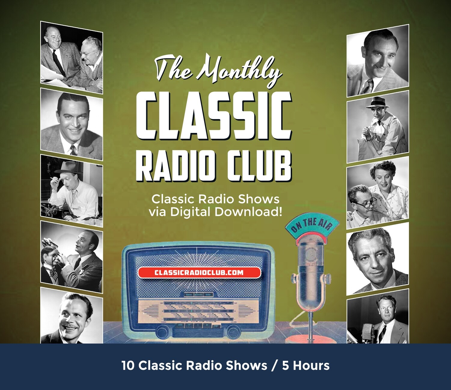 Classic Radio Club Past Release #08 (Digital Download only)