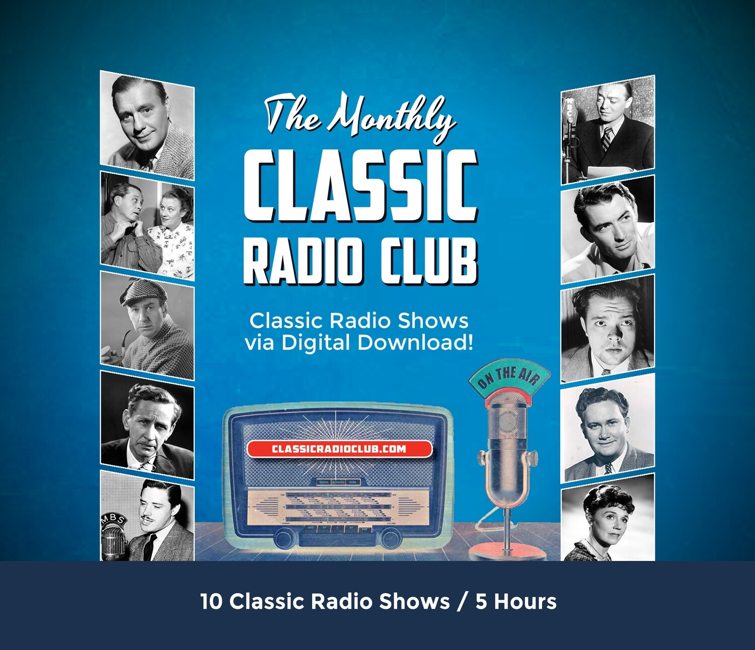 Classic Radio Club Past Release #15 (Digital Download only)