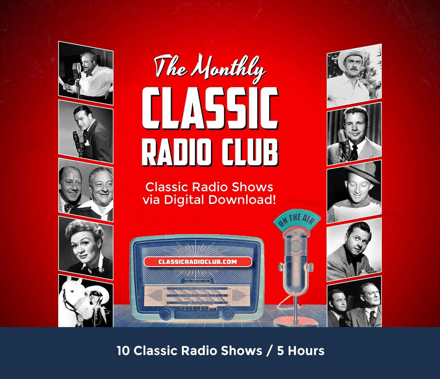 Classic Radio Club Past Release #16 (Digital Download only)