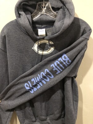 Blue Comet Sweatshirt - Gray