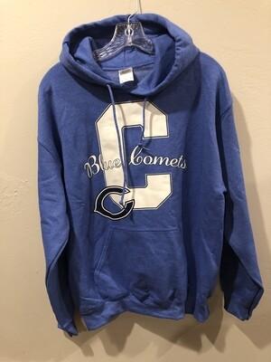 Comet Sweatshirt - Heathered Blue - Logo