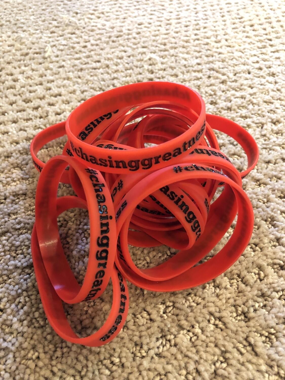 #chasinggreatness Bracelet