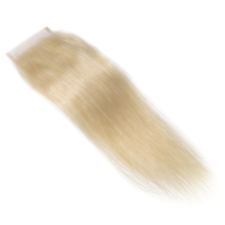 Goddess Blonde Straight Closure