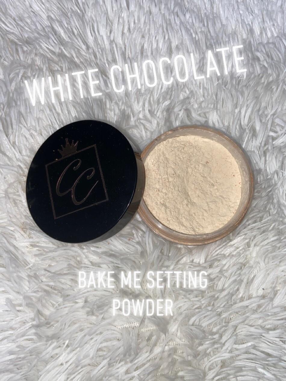 """White Chocolate"" Bake Me Setting Powder"