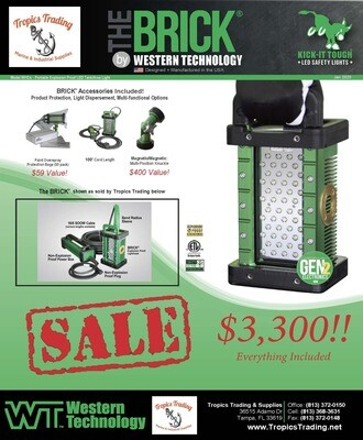 Western Tech 9610 A-Model BRICK Explosive Proof LED Lights